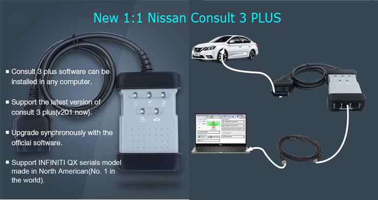 Nissan consult 3+